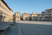 View Of Piazza Santa Croce In ...