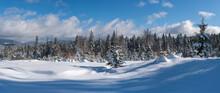 Winter Remote Alpine Village O...