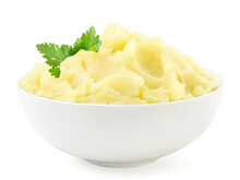 Mashed Potatoes With A Parsley...
