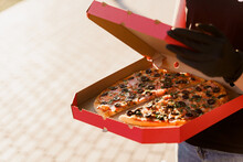 Safety Pizza Delivery From Res...