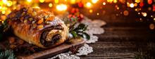 Christmas Poppy Seed Cake, Tra...