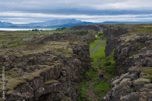 Silfra Rift in Thingvellir, Iceland