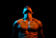 Muscular Man Body And Strong S...