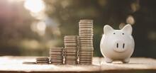 Business Finance And Saving Mo...
