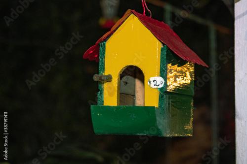 Foto casita de pajaritos