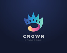 Crown Logo. Colorful Abstract ...