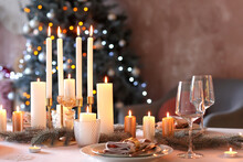 Beautiful Table Setting With C...