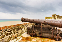 Old Cannon At Sohail Castle In...