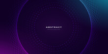 Modern Abstract Purple Gaming Background