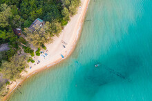 Aerial View Of  Sunset Beach, ...