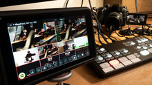 Streaming Setup With Video Mix...