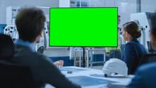 Modern Factory Office Meeting ...