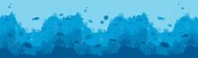 Underwater World Background. H...