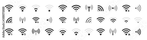 Photo Icon wifi signal