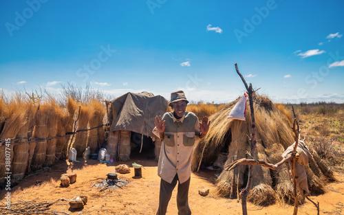 Fotografie, Obraz African hut