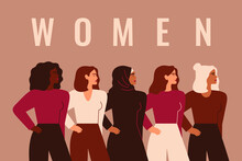 Strong Five Women And Girls Of...