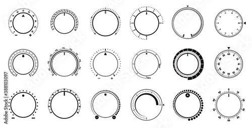 Canvas Print Adjustment dial