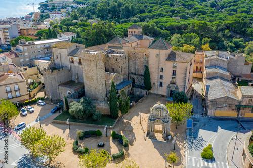 Fotografia monastery san feliu de guixols spain