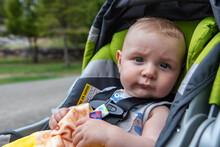 Portrait Of Cute Little Baby B...