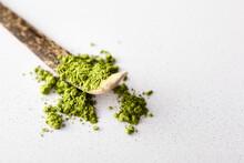 Matcha Tea Powder On Tradition...
