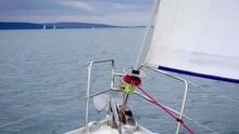Self-tailing Winch On A Sailbo...