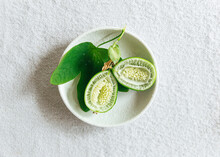 Green Fruit From Passiflora Pl...
