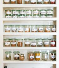 Beautiful Spice Shelf With Jar...
