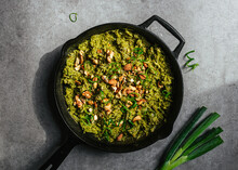 Green Vegetable Rice In Cast I...