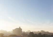 Morning Mist Rising Over Pagod...