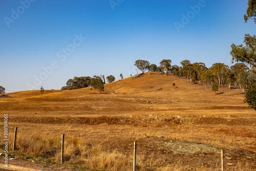dry arid landscape Fototapete