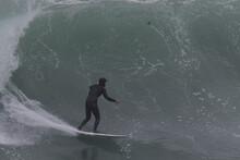 Surfing In Big Sur California