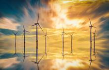 Offshore Wind Turbine In A Win...