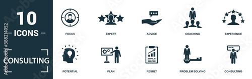 Fotografia, Obraz Consulting icon set