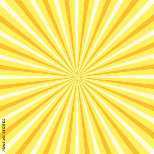 Beautiful summer sunburst Canvas Print