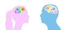Male And Female Brain Logic Si...