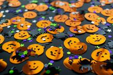 Halloween Background: Shiny Co...