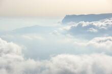 Over Clouds Landscape