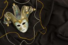 Top View Of Venetian Carnival ...
