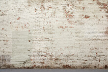 Rustic Aged Brick Wall