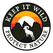 Keep It Wild Patch Design