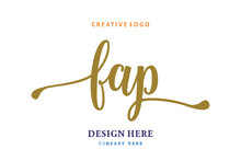 FAP Lettering Logo Is Simple, Easy To Understand And Authoritative