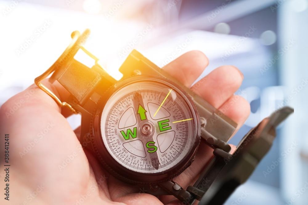 Fototapeta Compass.