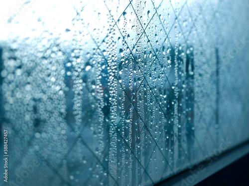 Fototapeta 窓ガラスの結露 obraz