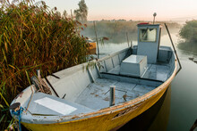 Small Fishing Boats In Small D...