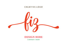 FIZ Lettering Logo Is Simple, Easy To Understand And AuthoritativePrint