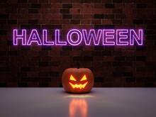 Halloween Jack O Lantern In A ...