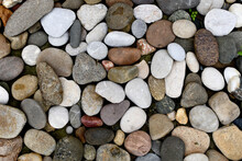 Abstract Smooth Round Pebbles ...