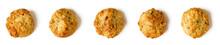 Oat Flake Cookies Isolated On ...