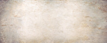 Beige Background With Old Texture, Copy Space For Adding Text Or Website Banner.