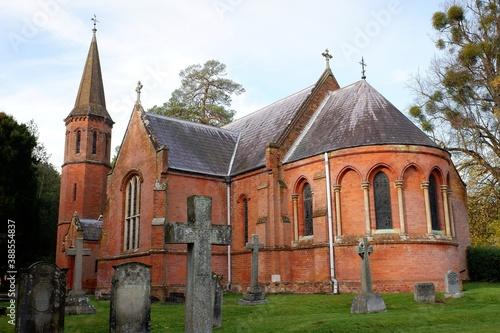Fotografia St. Mary Magdalene Church, Latimer, Buckinghamshire, England, UK